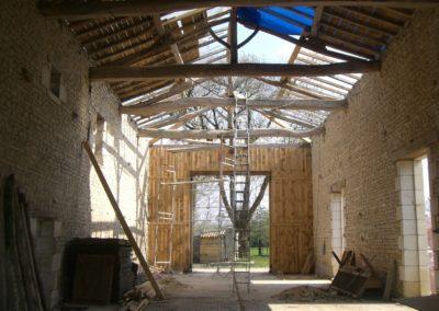 Réfection de la toiture