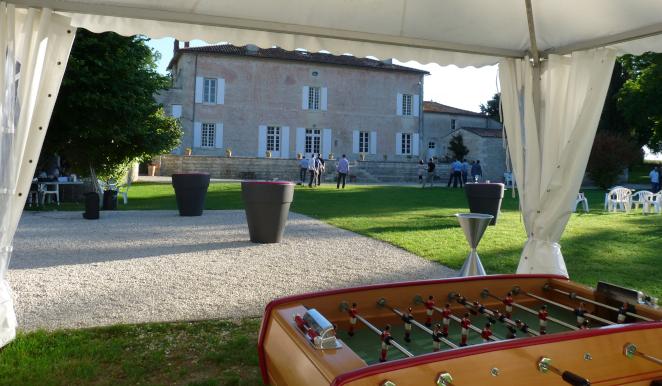 Le parc du domaine de la gravette - Location d'une salle de réunion près de Niort