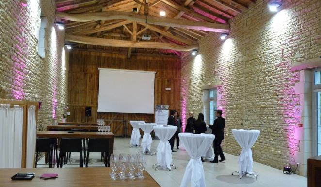 location salle pour cocktail d'entreprise - Domaine de la Gravette