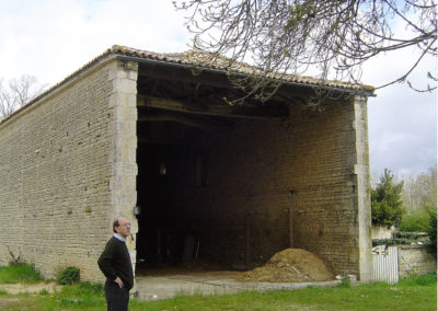 La grange avant sa fermeture
